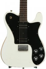 Friedman Vintage T with Humbuckers and Alder Body - Vintage White with Rosewood Fingerboard