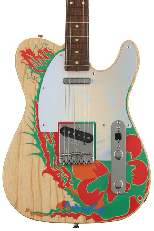 Jimmy Page Telecaster - Natural w/ Artwork
