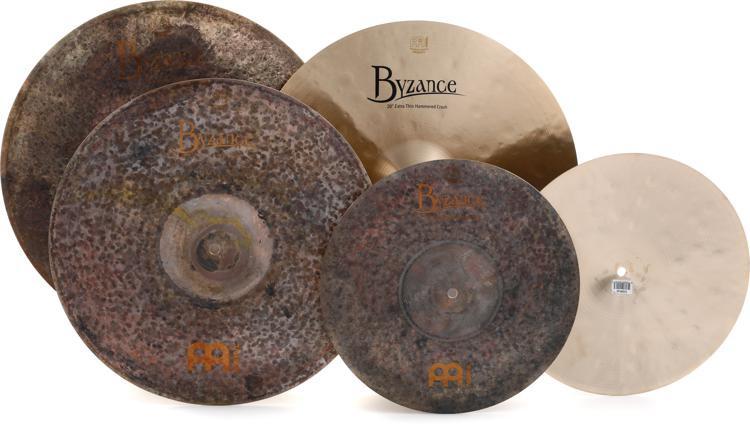 Meinl Cymbals Mike Johnston Byzance Cymbal Box Set Free 18