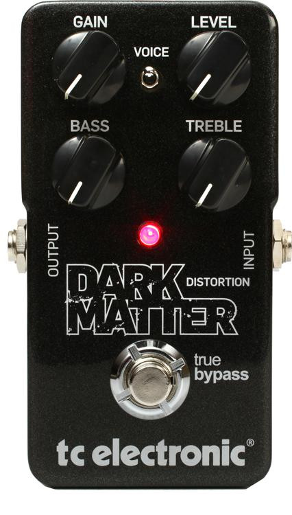 tc electronic dark matter distortion pedal sweetwater. Black Bedroom Furniture Sets. Home Design Ideas