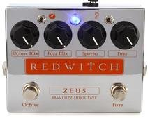 Red Witch Zeus Bass Fuzz Sub-octave Pedal