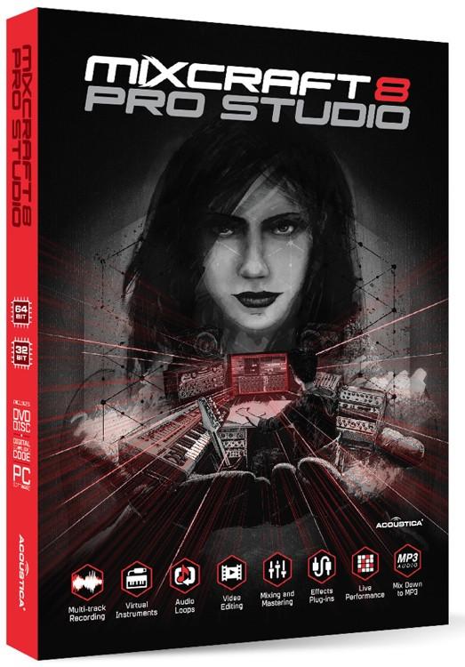Acoustica Mixcraft 8 Pro Studio Education Edition image 1