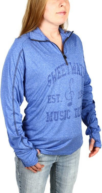 Sweetwater Quarter-zip Sweatshirt - Blue, Large image 1