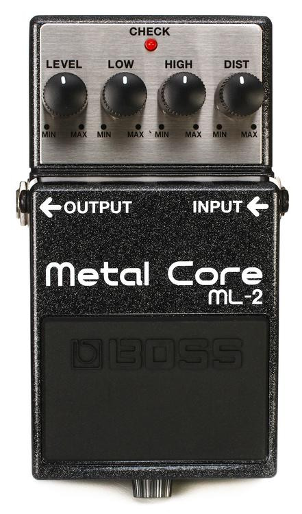 Boss ML-2 Metal Core Distortion Pedal image 1