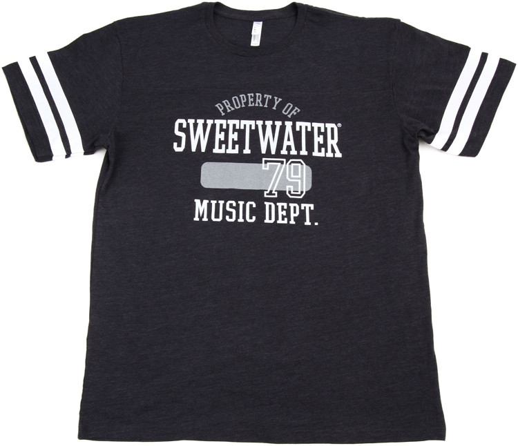 Sweetwater Vintage Navy/White Football Jersey T-shirt - Men\'s Large image 1
