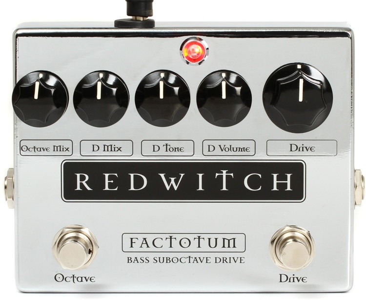 Red Witch Factotum Suboctave and Bass Overdrive Pedal image 1