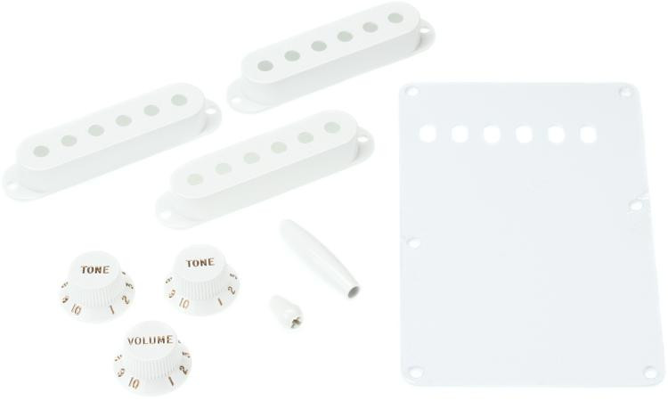 Fender Stratocaster Accessory Kit - White image 1