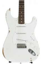 Fender Custom Shop Ancho Poblano Stratocaster Relic - Olympic White