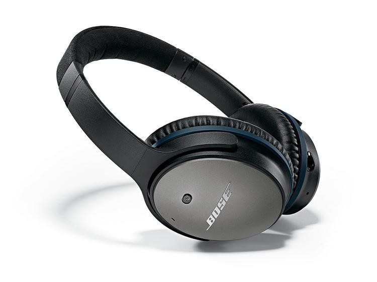 Bose QuietComfort 25 Noise-Cancelling Headphones for Apple Devices image 1