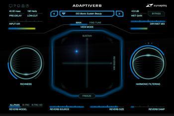 Zynaptiq Adaptiverb Plug-in image 1