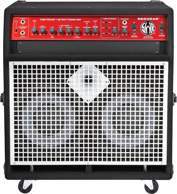swr redhead 2x10 400 watt bass combo amp sweetwater. Black Bedroom Furniture Sets. Home Design Ideas