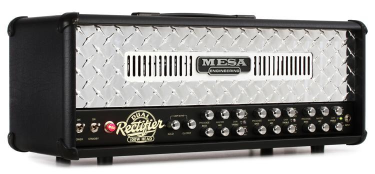 Mesa/Boogie Dual Rectifier 100-watt Tube Head - Diamond Faceplate image 1
