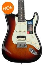 Fender American Elite Stratocaster HSS Shawbucker - 3-color Sunburst with Ebony Fingerboard