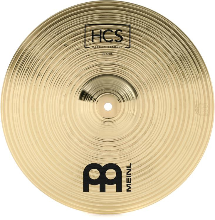 meinl cymbals hcs crash cymbal 14 sweetwater. Black Bedroom Furniture Sets. Home Design Ideas