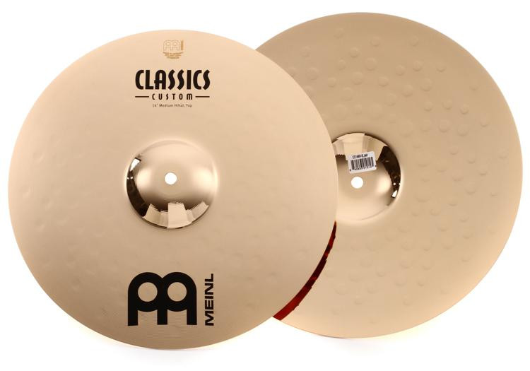 Meinl Cymbals Classics Custom Medium Hi Hats - 14