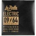 La Bella HRS-71 Nickel 7-string Electric Guitar Strings - 0.009-0.064