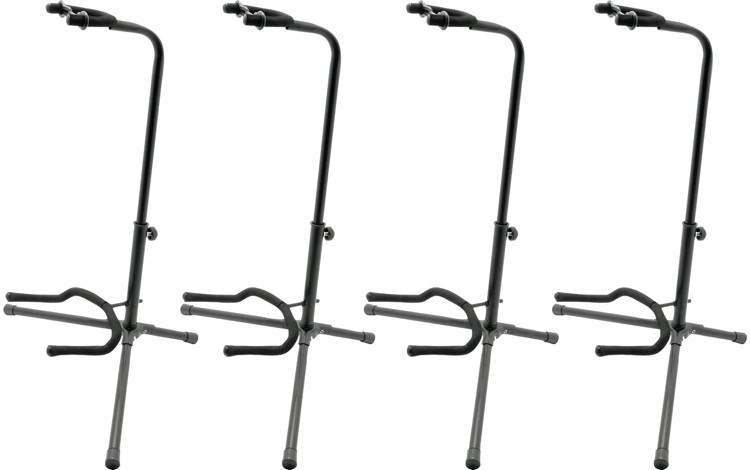 On-Stage Stands XCG-4 Classic Guitar Stand - 4 Pack image 1