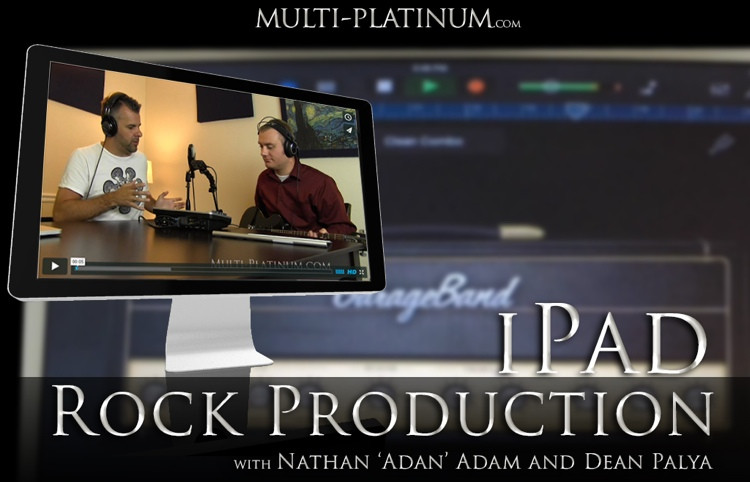 Multi Platinum iPad Production Rock Interactive Course image 1