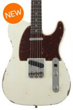 Fender Custom Shop 1961 Relic Telecaster - Aged Olympic White with Rosewood Fingerboard