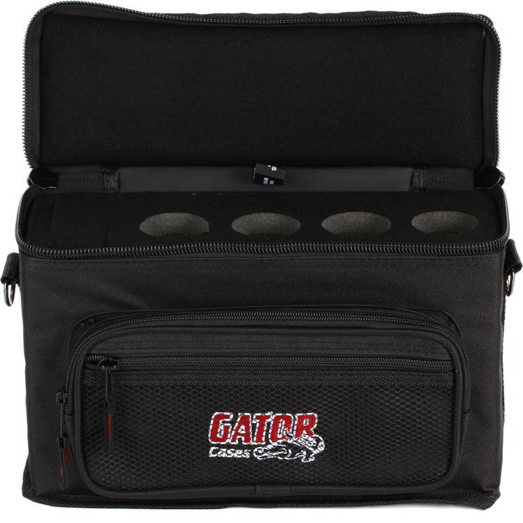 Gator GM-4 - 4 Microphones Bag image 1
