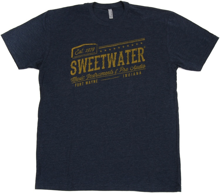 Sweetwater Midnight Navy 1979 T-shirt - Men\'s Fitted Small image 1