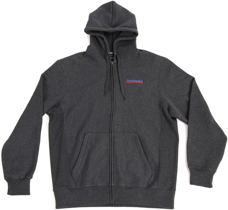 Sweetwater Zip-up Hoodie - Gray, Large image 1