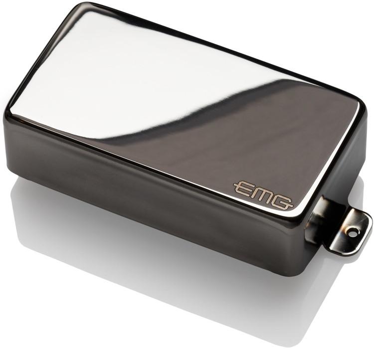 EMG 85 MetalWorks Active Alnico Humbucker Guitar Pickup Black Chrome image 1