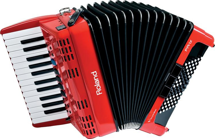 Roland FR-1x - Piano-type, Red image 1