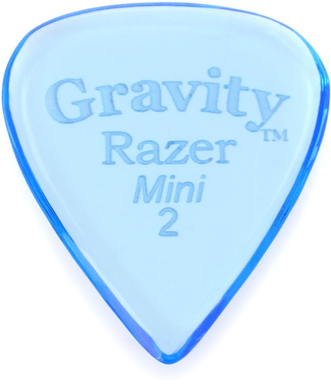Gravity Picks Razer - Mini Size, 2mm, Polished image 1