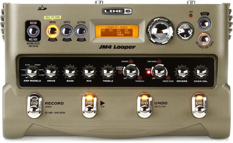Line 6 JM4 Looper Pedal image 1