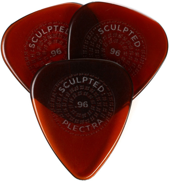 Dunlop Primetone Standard Pick with Grip .96mm 3-pack image 1