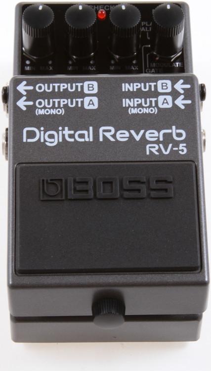 boss rv5 digital reverb review