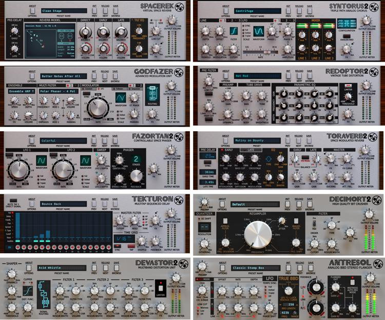 D16 Group SilverLine Collection - Effects Plug-in Bundle image 1