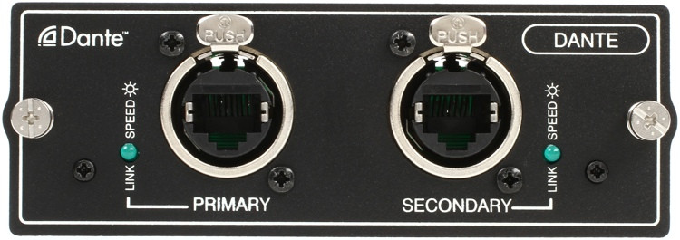 Soundcraft Dante Expansion Card for Si Series Mixers image 1