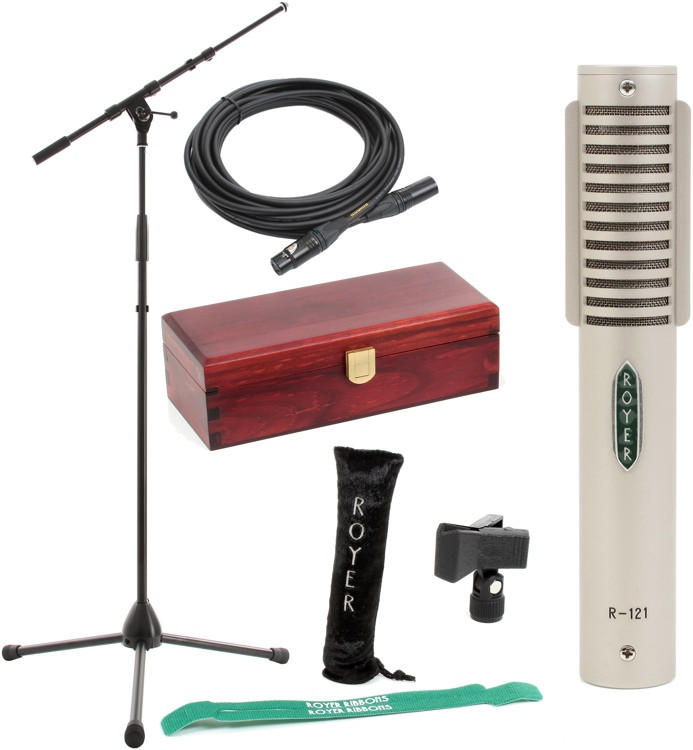 Royer R-121 Package - w/Stand and Cable image 1