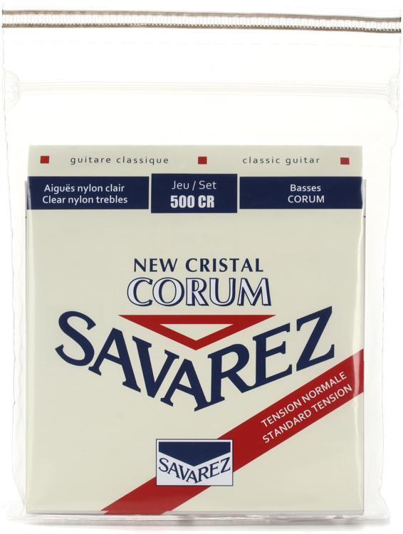 Savarez S.A. 500CR New Cristal Corum Normal Tension Classical Guitar Strings image 1