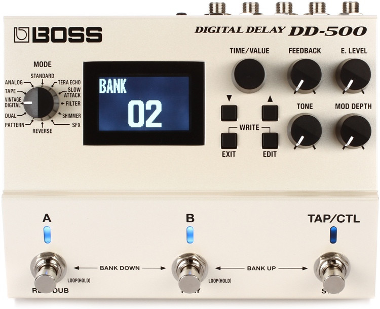 Boss DD-500 Digital Delay Pedal image 1