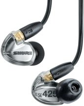 Shure SE425 Sound-isolating Earphones - Metallic Silver