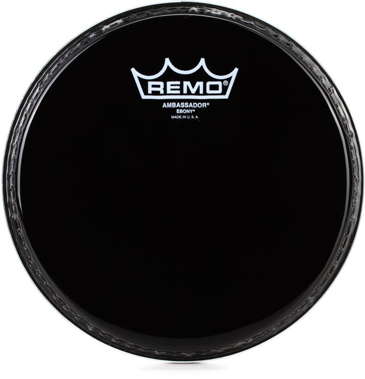 Remo Ebony Ambassador Drum Head - 8