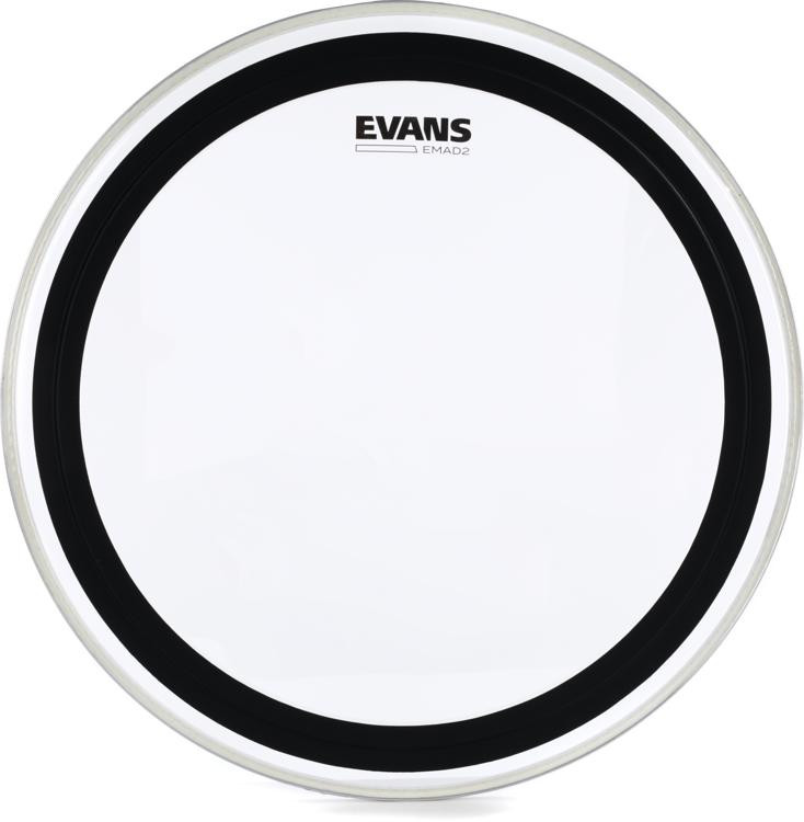 Evans EMAD2 Clear Bass Drum Batter Head - 20