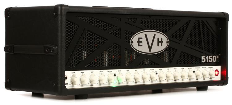 evh 5150 iii 100 watt tube head black sweetwater. Black Bedroom Furniture Sets. Home Design Ideas