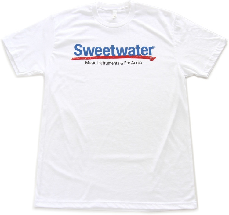 Sweetwater Logo T-shirt - White, Large image 1