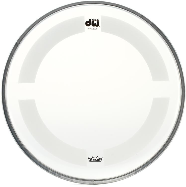 DW Coated/Clear Drumhead - 8