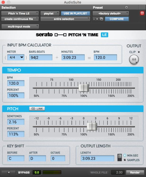 Serato Pitch \'n Time LE 3.0 Plug-in image 1