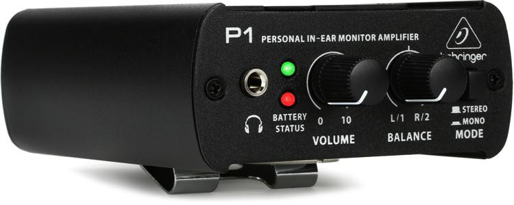 Behringer Powerplay P1 Personal In-ear Monitor Amplifier image 1