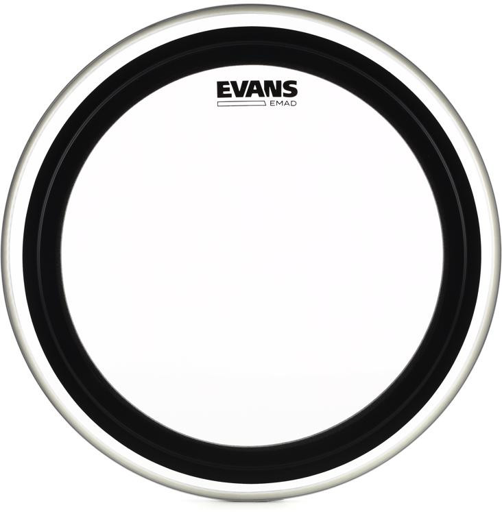 Evans EMAD Clear Bass Drum Batter Head - 18