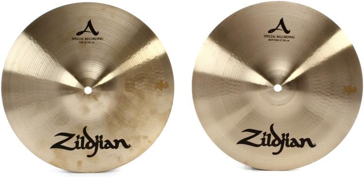 zildjian a series special recording hi hats 12 sweetwater. Black Bedroom Furniture Sets. Home Design Ideas