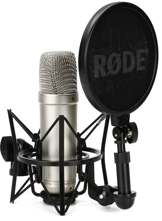 rode nt1 a large diaphragm condenser microphone sweetwater. Black Bedroom Furniture Sets. Home Design Ideas
