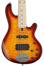 Lakland Skyline 55-02 Deluxe - Honey Burst, Maple Fingerboard