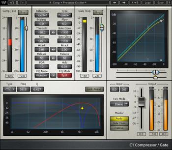 Waves C1 Compressor Plug-in image 1